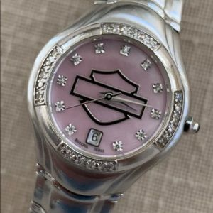 Ladies Harley-Davidson diamond Bulova watch